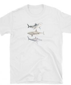 tshirt shark lover jaws sharks ocean t-shirt