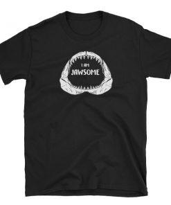 jawsome tshirt shark jaw t-shirt