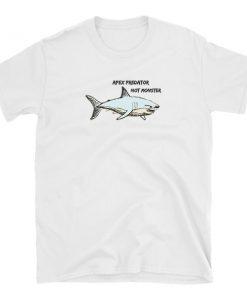 apex predator tshirt t-shirt white shark