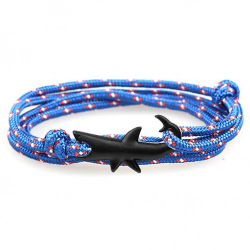 shark blue bracelet