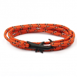shark orange bracelet