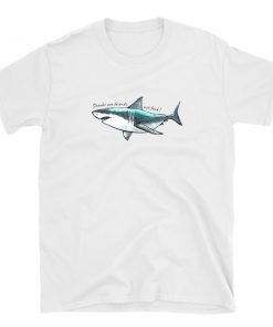 sharks are friends not food tshirt