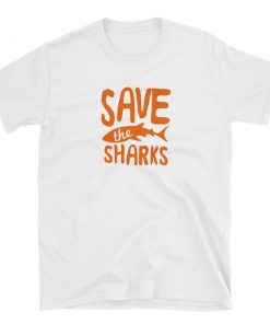 t shirt tshirt save the sharks
