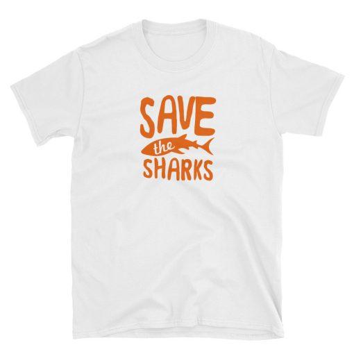 t shirt tshirt save the sharks